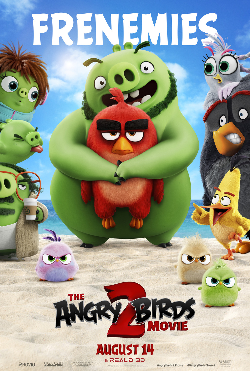 The Angry Birds Movie 2 kapak
