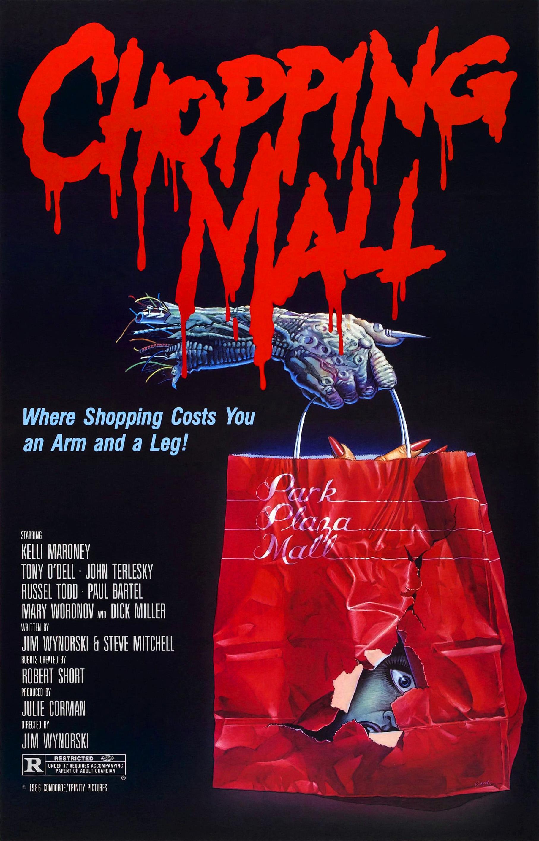 Chopping Mall kapak