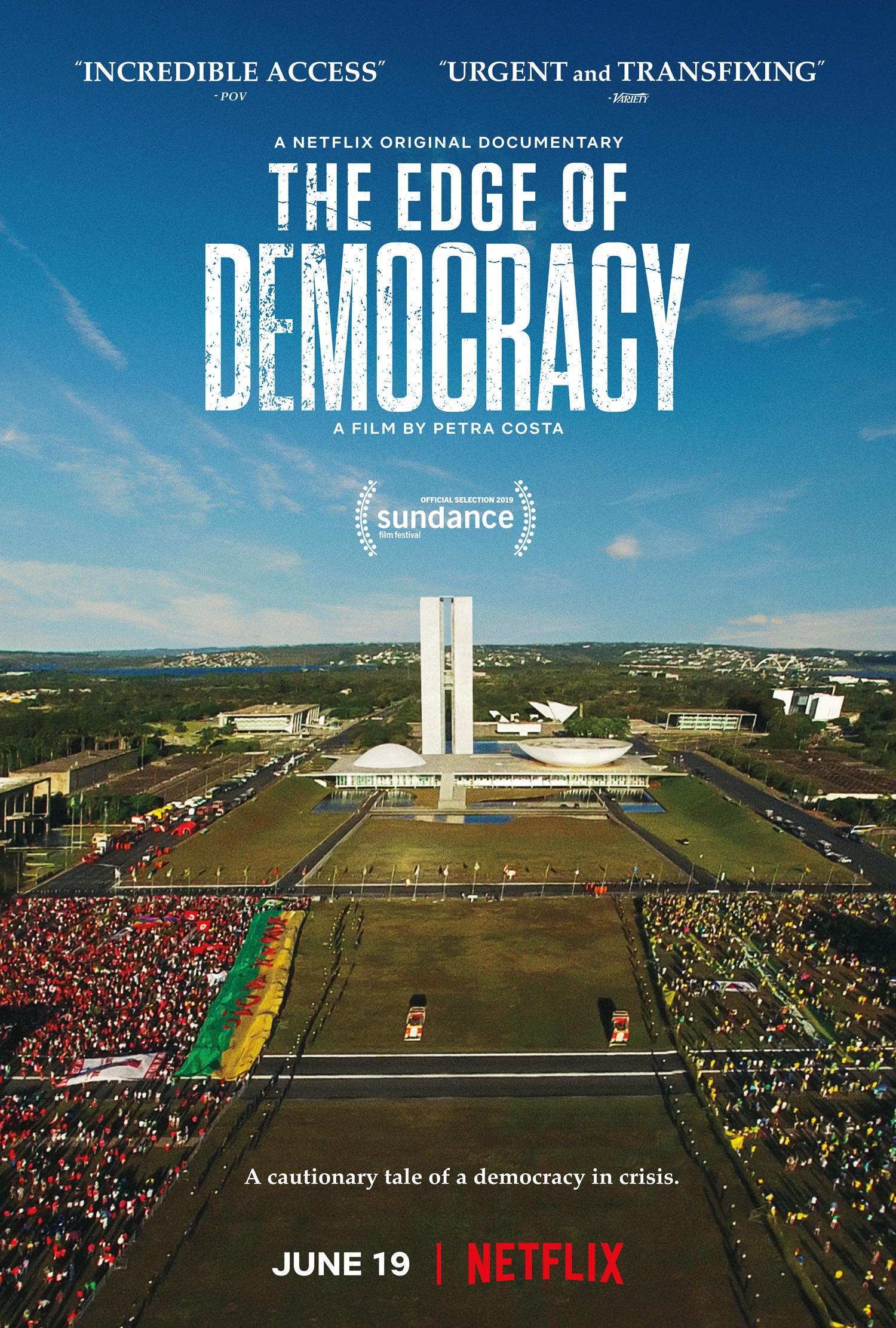 The Edge of Democracy kapak