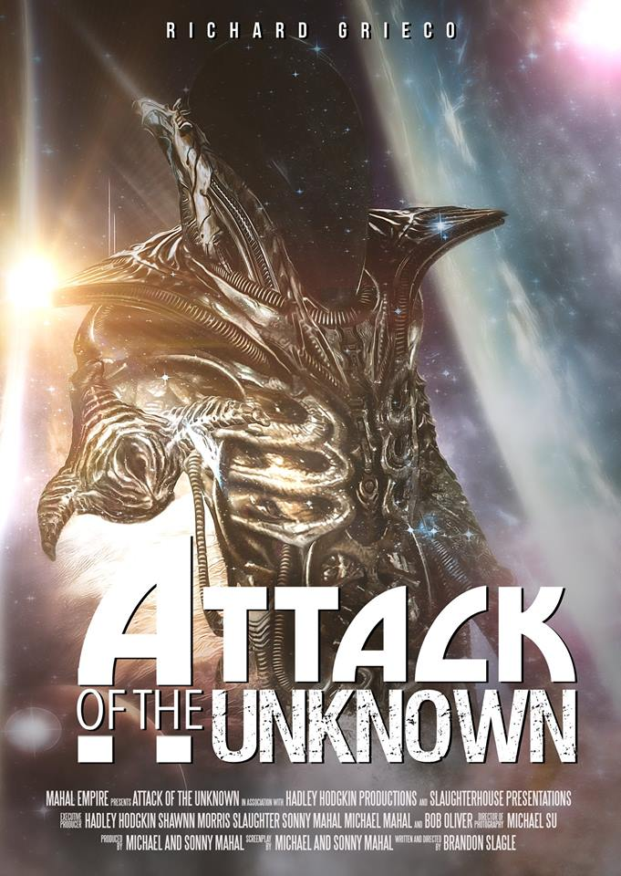 Attack of the Unknown kapak