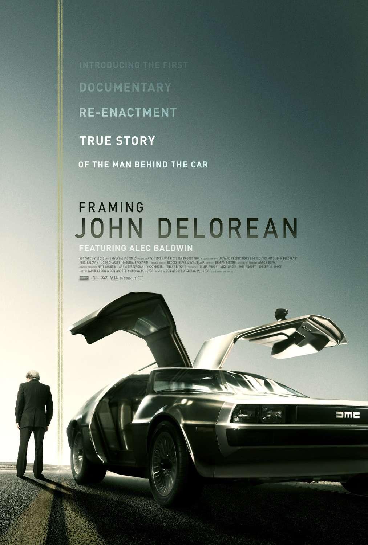 Framing John DeLorean kapak