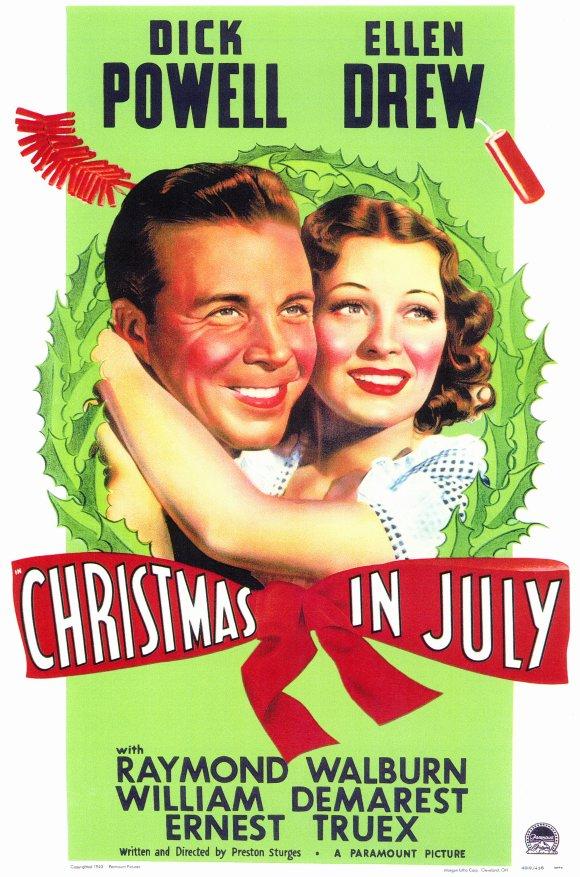 Christmas in July kapak
