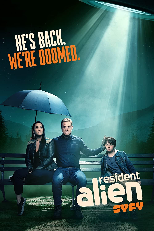 Resident Alien kapak