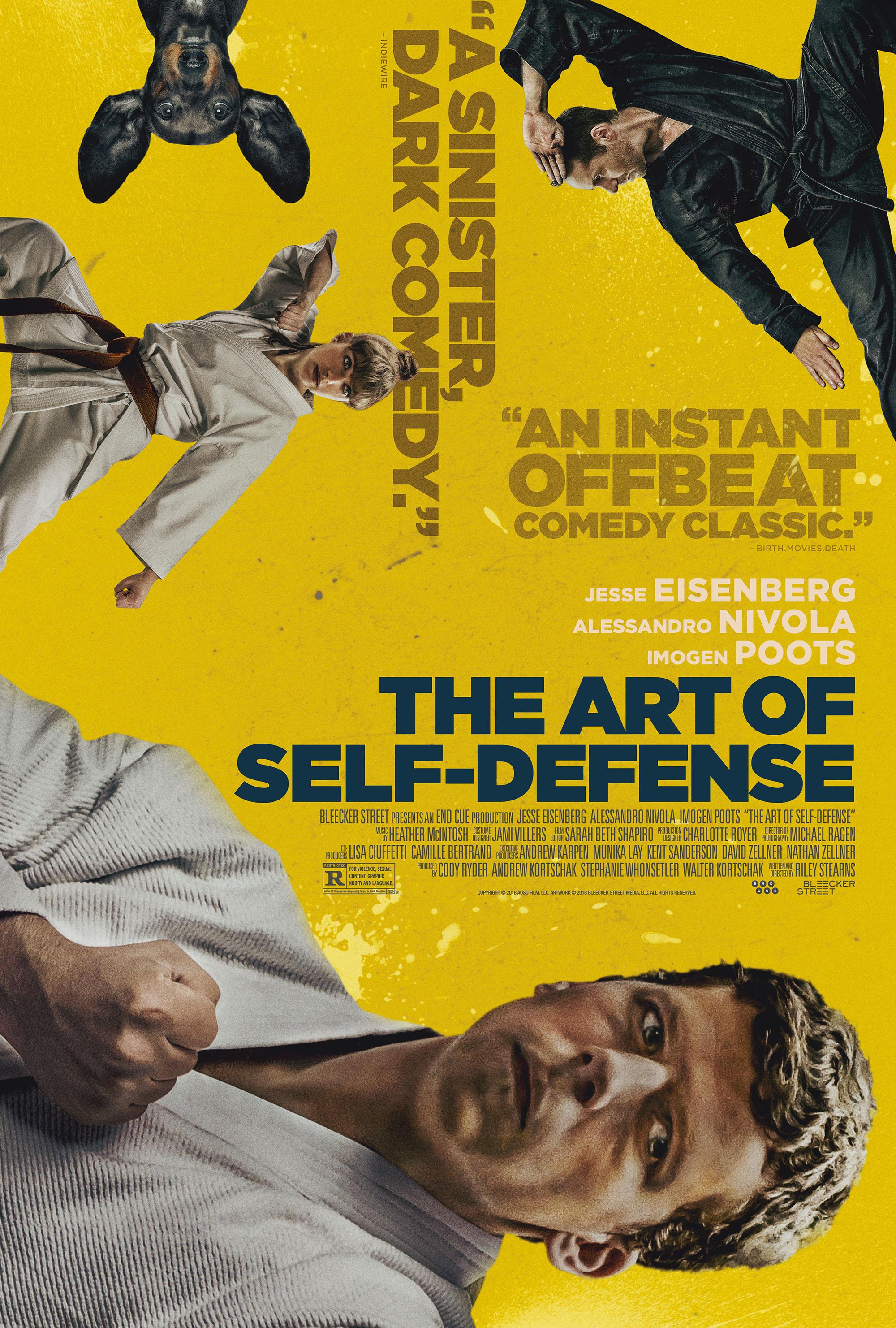The Art of Self-Defense kapak