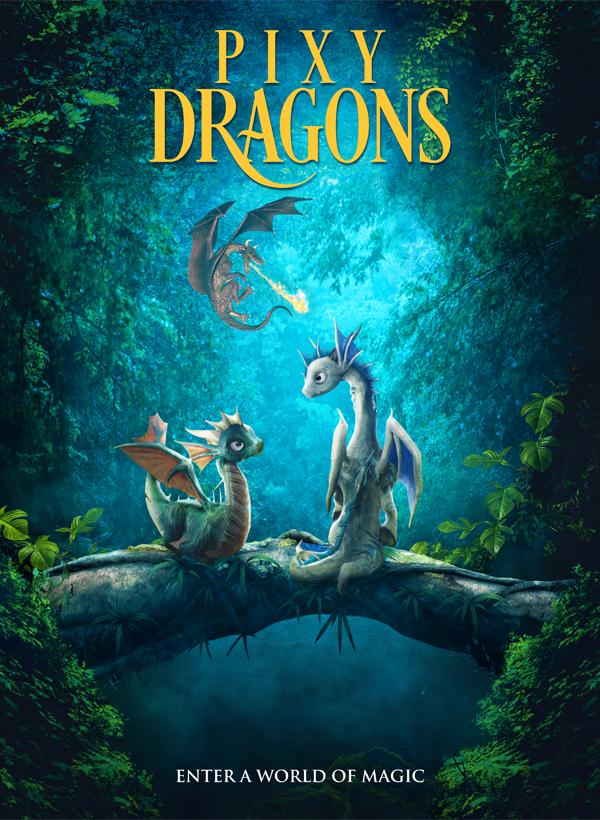 Pixy Dragons kapak
