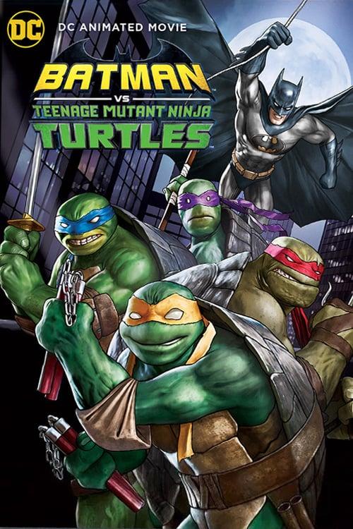 Batman Vs. Teenage Mutant Ninja Turtles kapak