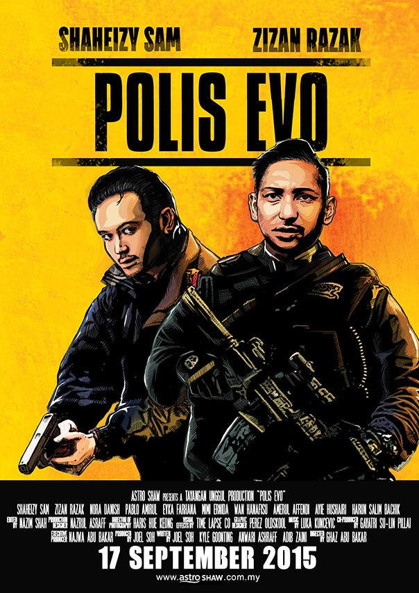Polis Evo kapak