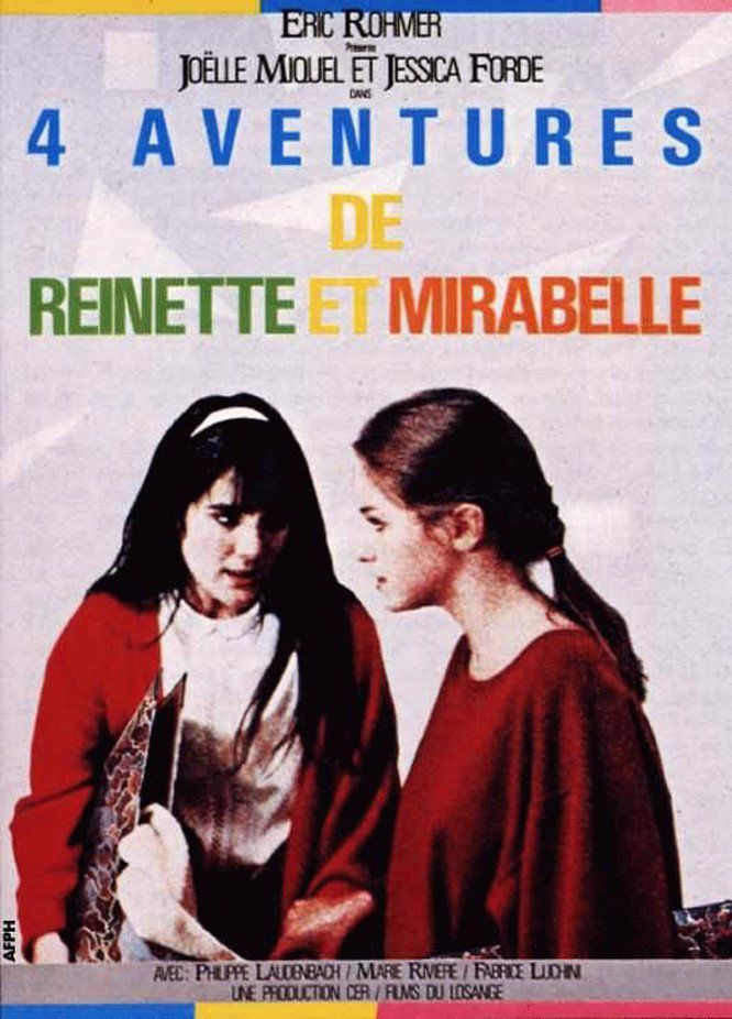 Four Adventures of Reinette and Mirabelle kapak