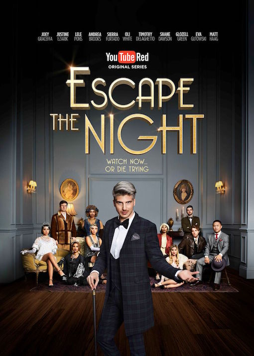 Escape the Night kapak