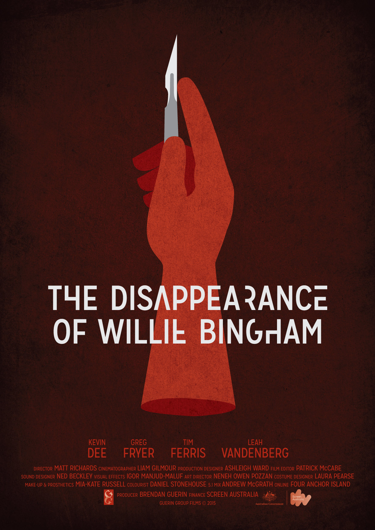 The Disappearance of Willie Bingham kapak