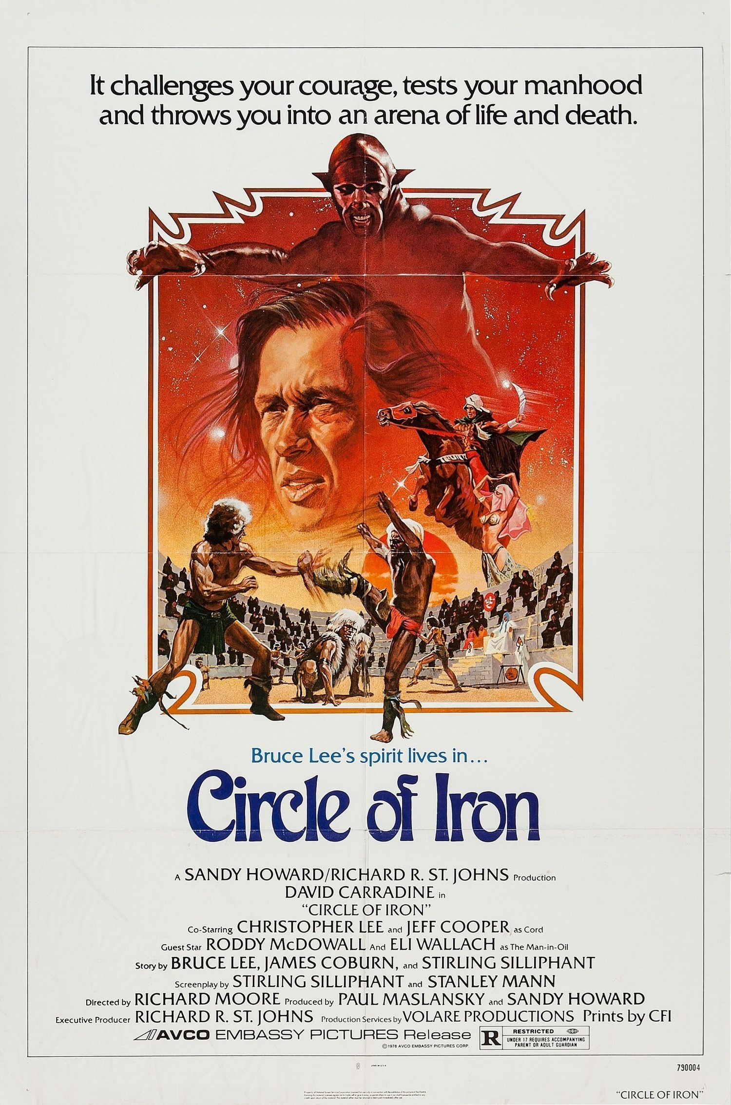 Circle of Iron kapak