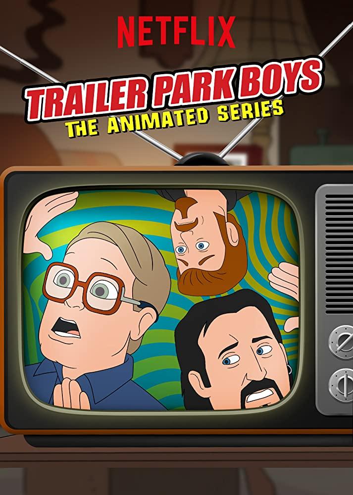 Trailer Park Boys: The Animated Series kapak