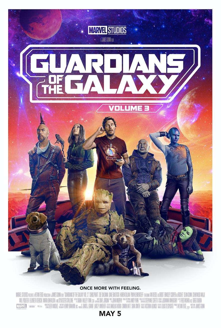 Guardians of the Galaxy Vol. 3 kapak