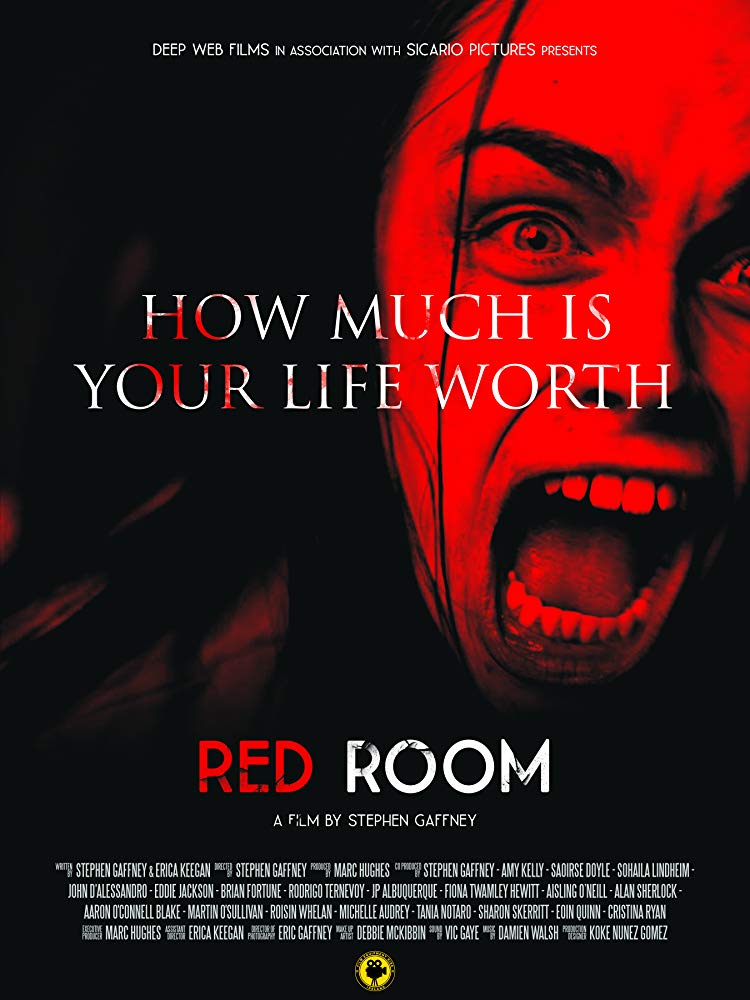 Red Room kapak