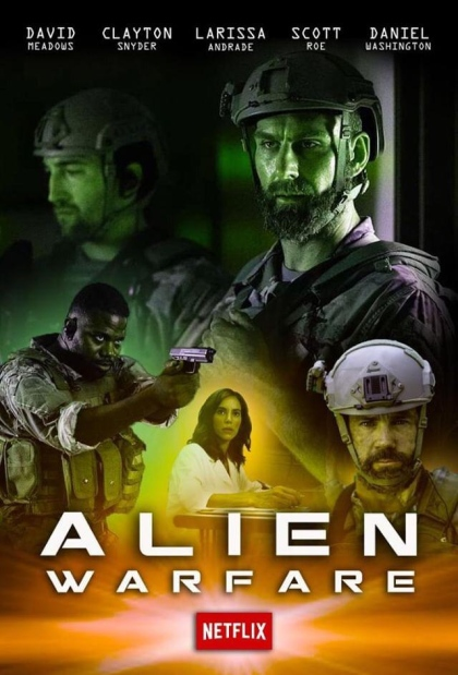 Alien Warfare kapak