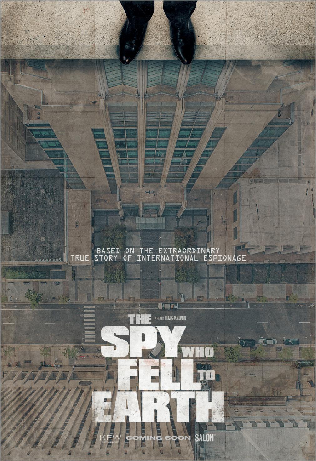 The Spy Who Fell to Earth kapak