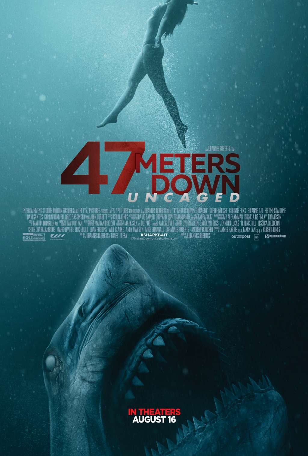 47 Meters Down: Uncaged kapak