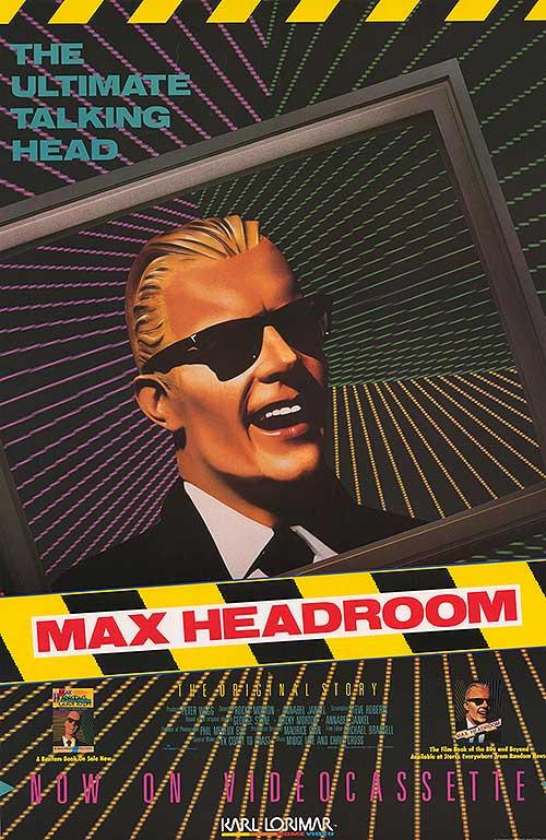 Max Headroom kapak
