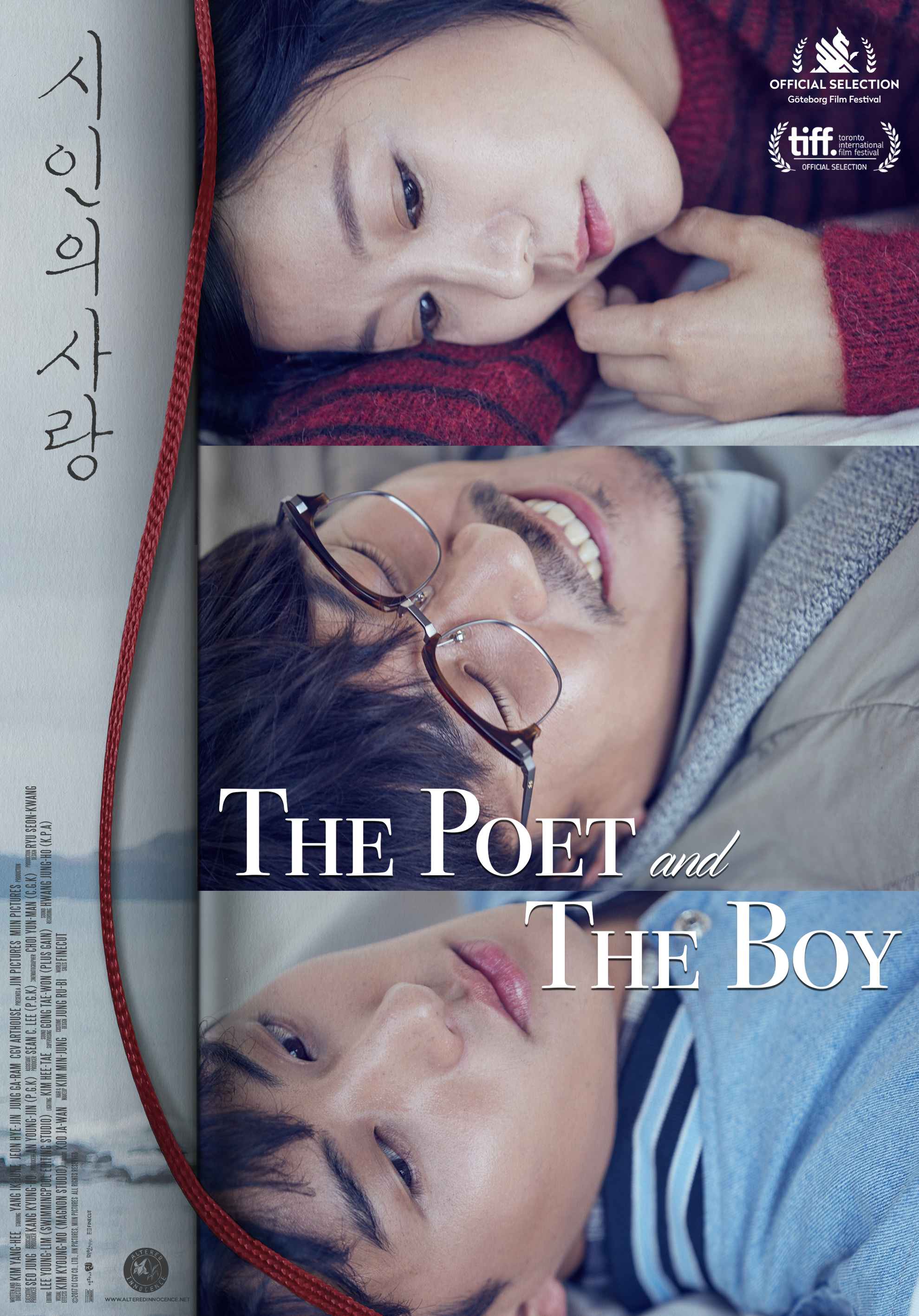 The Poet and the Boy kapak