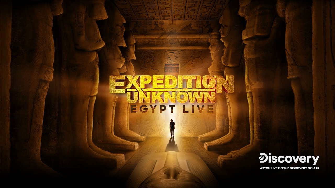 Expedition Unknown: Egypt Live kapak