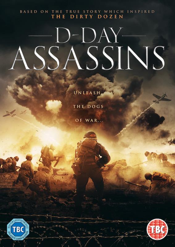 D-Day Assassins kapak