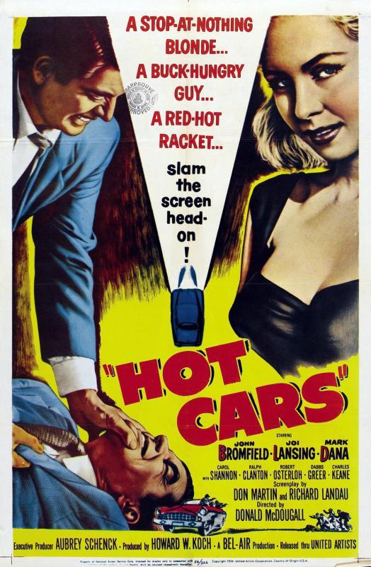 Hot Cars kapak