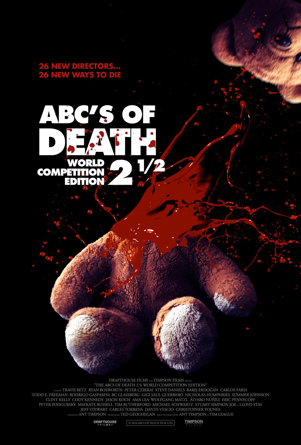 ABCs of Death 2.5 kapak