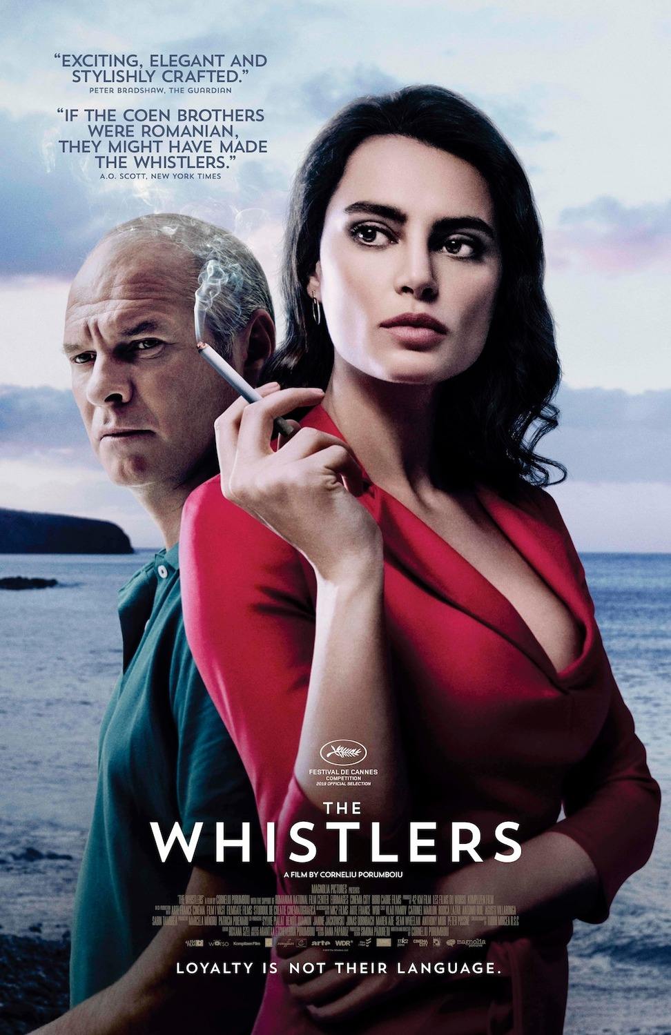 The Whistlers kapak