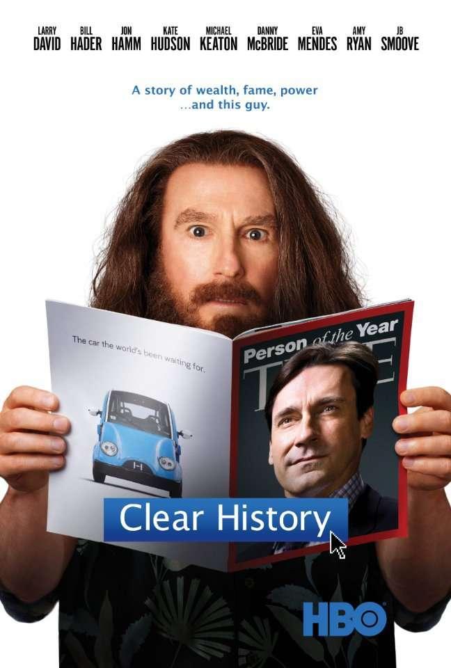Clear History kapak