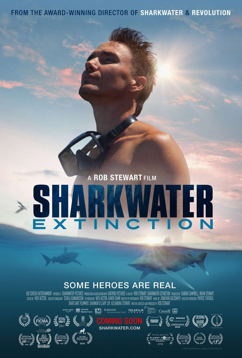 Sharkwater Extinction kapak