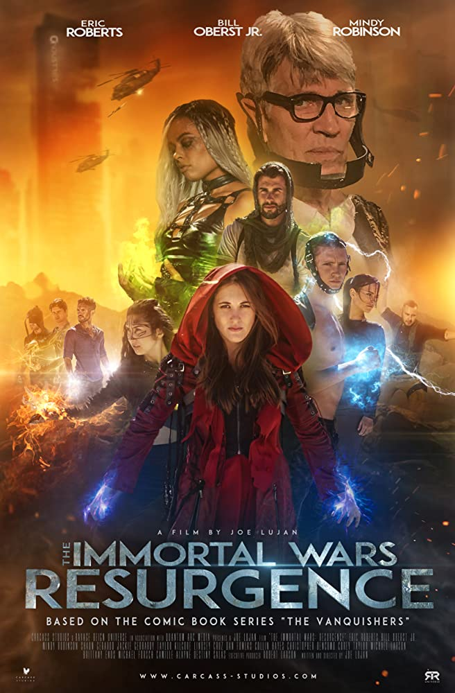 The Immortal Wars: Resurgence kapak