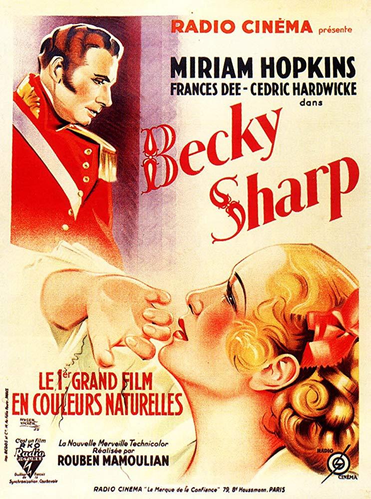 Becky Sharp kapak