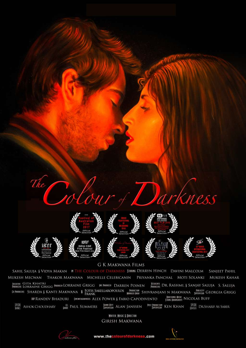 The Colour of Darkness kapak