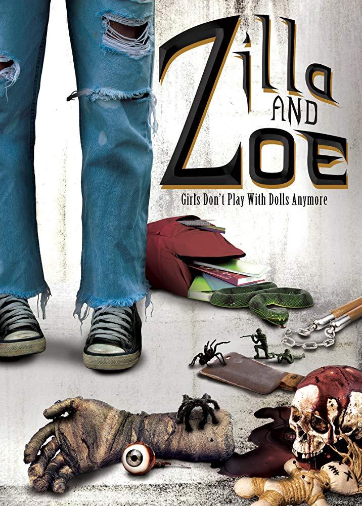 Zilla and Zoe kapak
