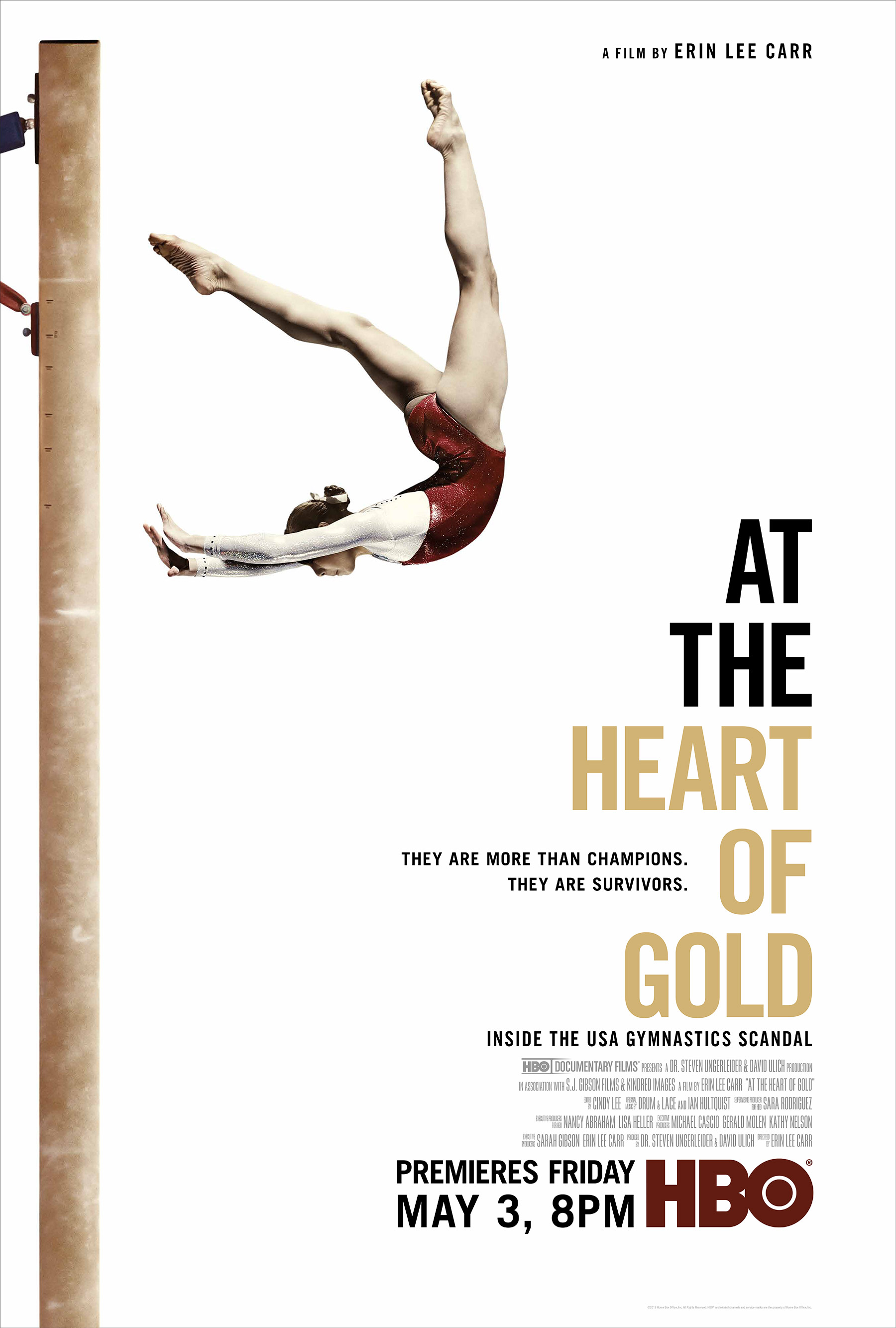 At the Heart of Gold: Inside the USA Gymnastics Scandal kapak