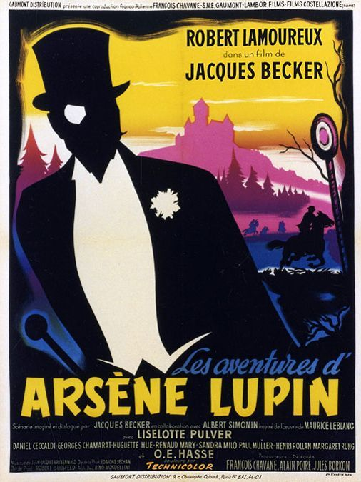 The Adventures of Arsène Lupin kapak