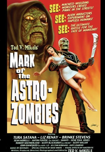 Mark of the Astro-Zombies kapak
