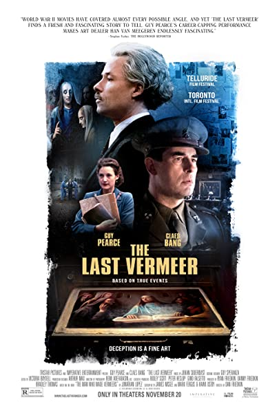 The Last Vermeer kapak