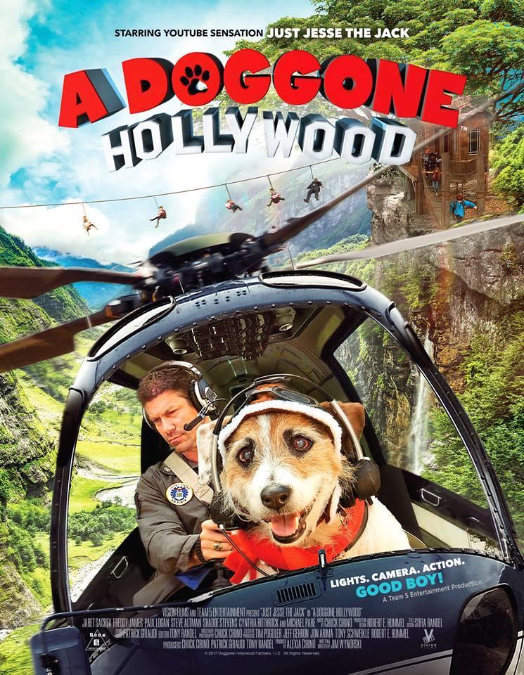 A Doggone Hollywood kapak