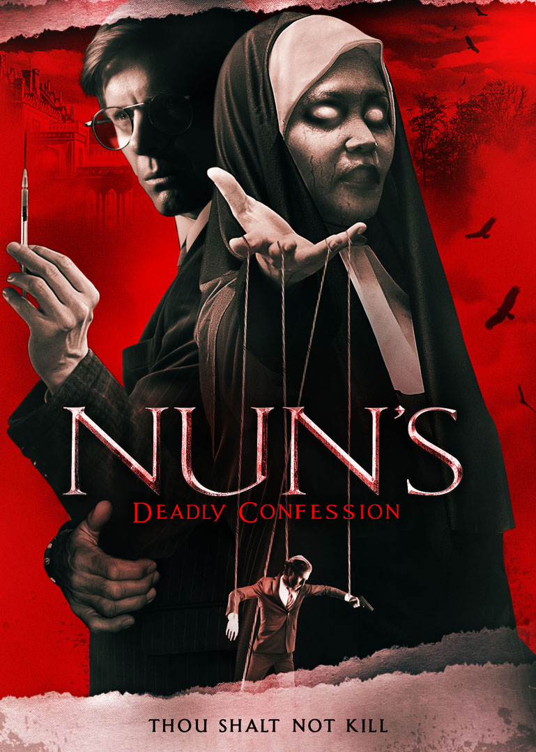 Nun's Deadly Confession kapak