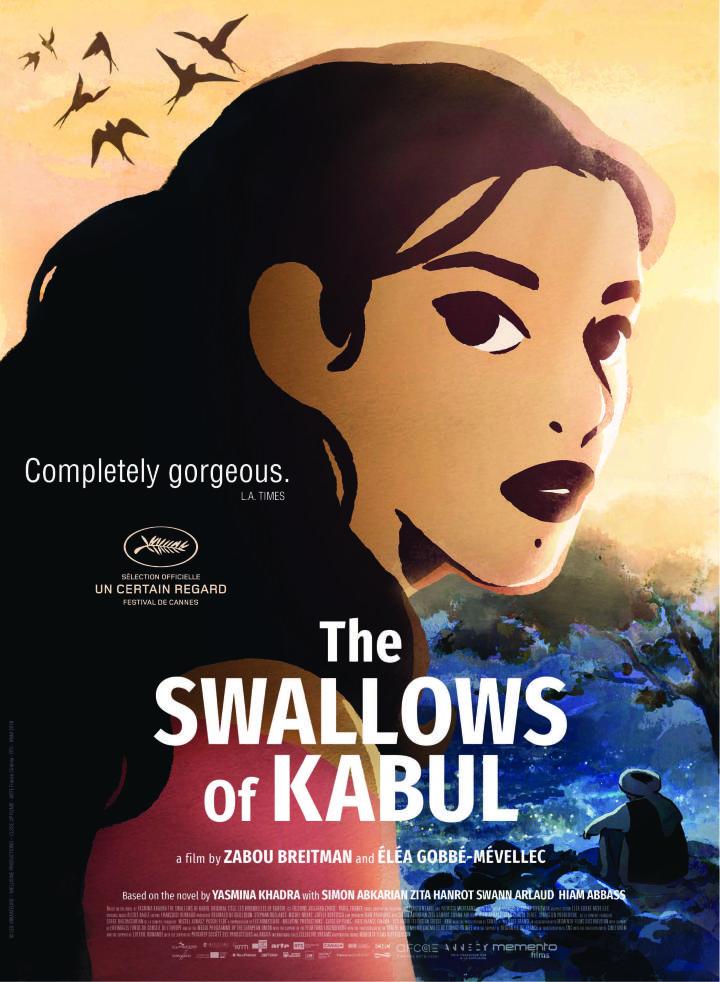 The Swallows of Kabul kapak