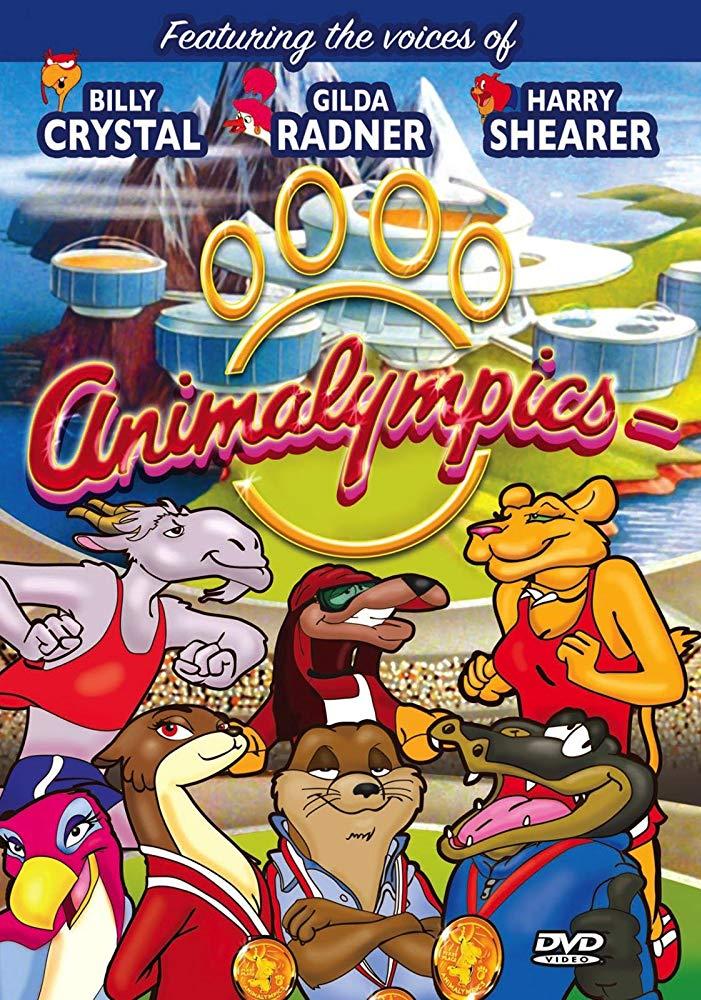 Animalympics kapak