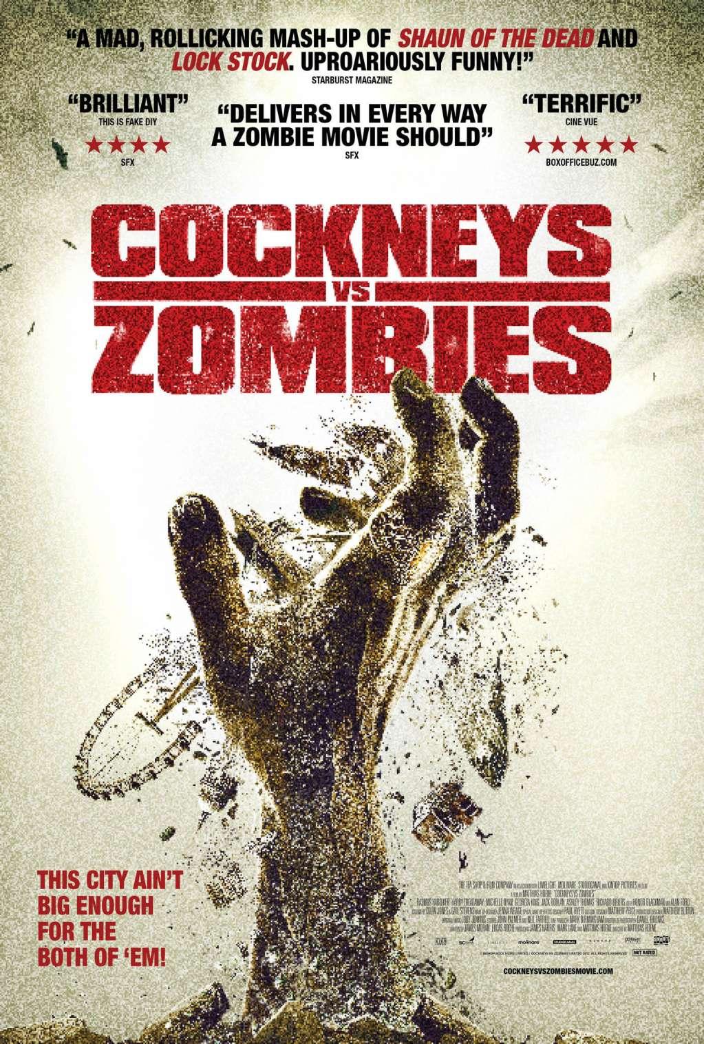 Cockneys vs Zombies kapak