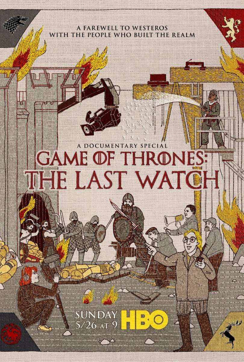 Game of Thrones: The Last Watch kapak