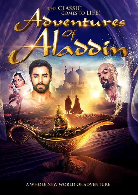 Adventures of Aladdin kapak
