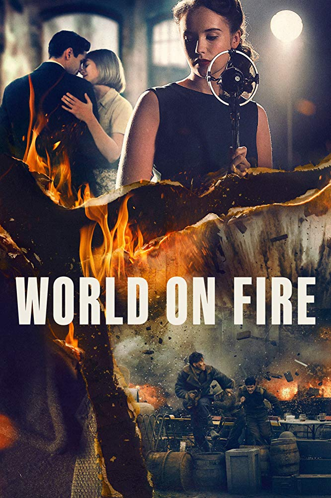 World on Fire kapak