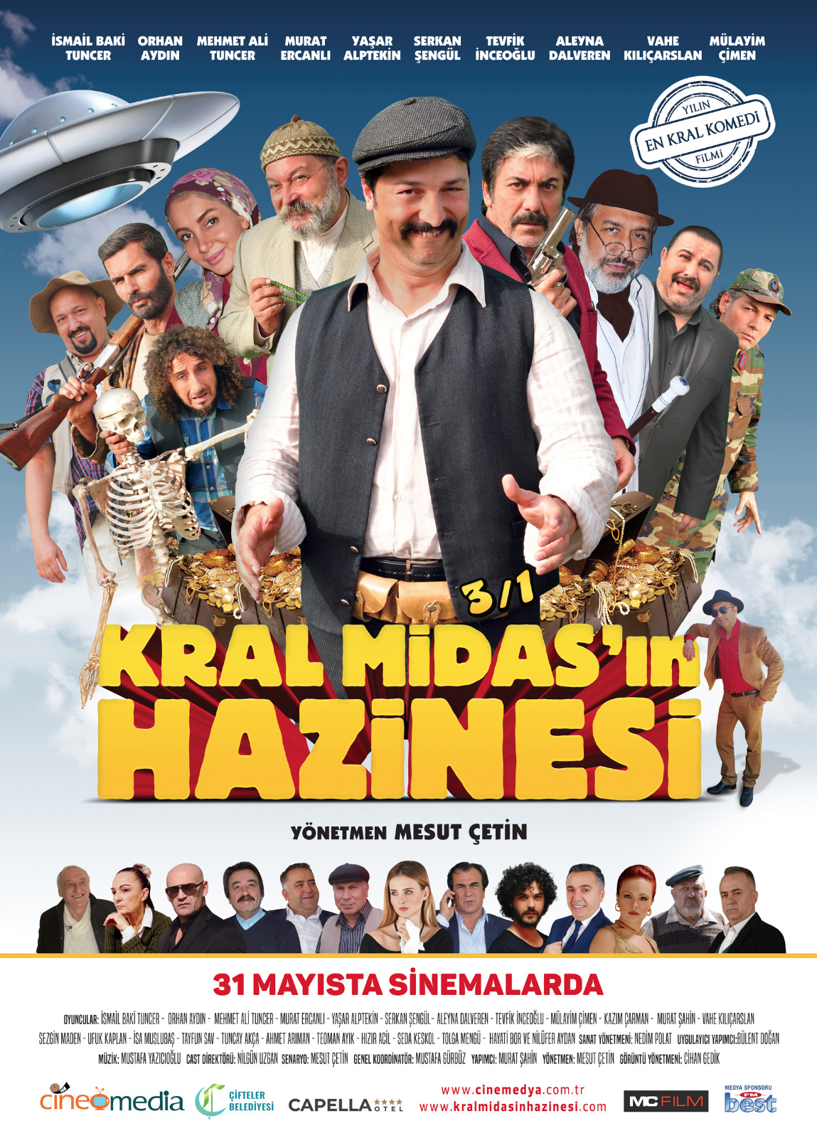 Kral Midas'in Hazinesi kapak