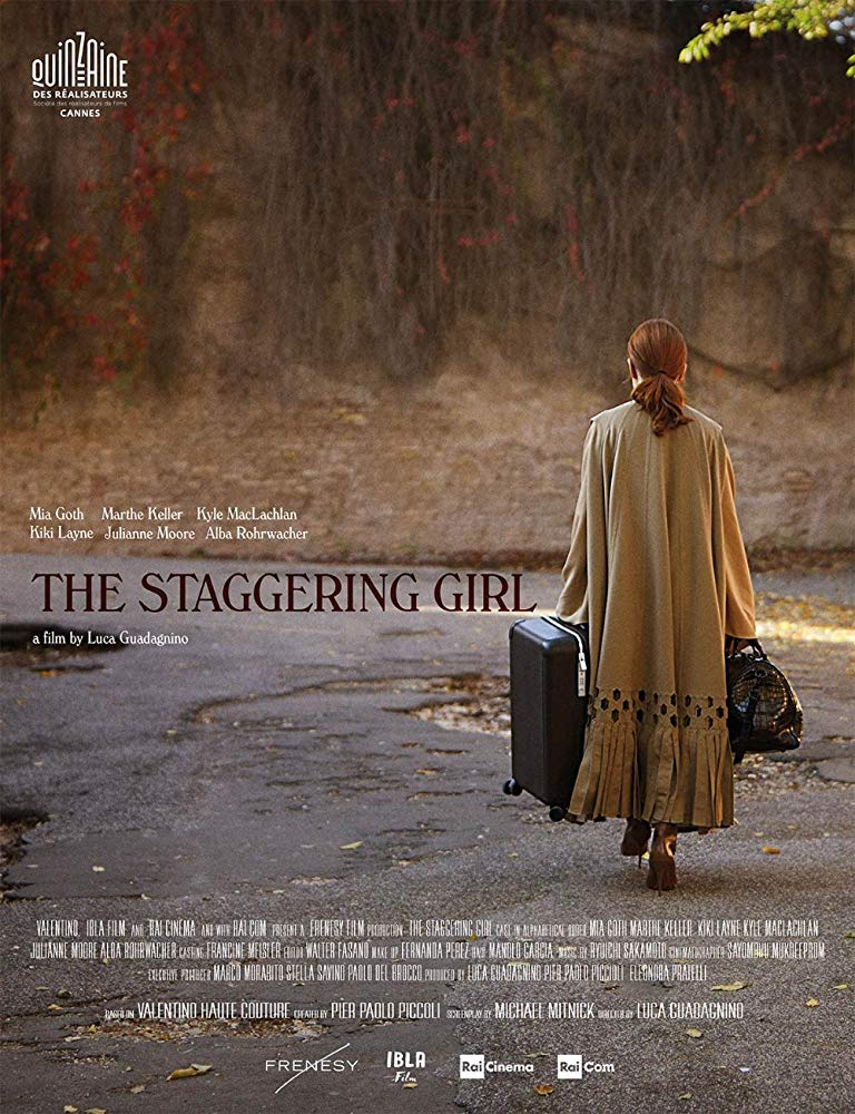The Staggering Girl kapak