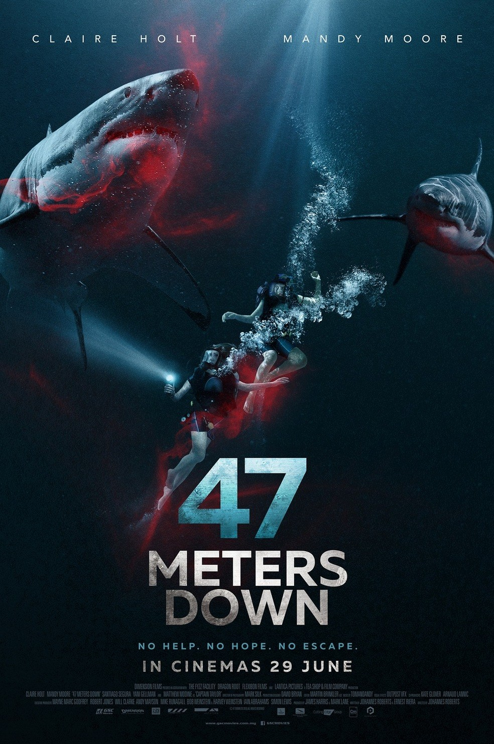 47 Meters Down kapak