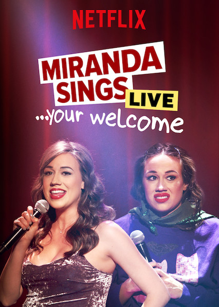 Miranda Sings Live... Your Welcome kapak